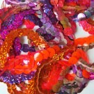"10mm Sequin Trim Sampler Pack. 10 (12"") pieces. Colors: Purple Pink Orange Lilac"
