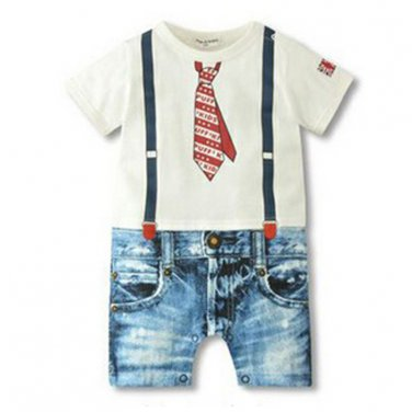 2017 Baby Boy Rompers Summer Baby Boy Clothing Sets