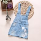 Baby Girl  Summer Denim Dresses Girls Overalls Kids Jeans Bebe Infant Clothes Baby