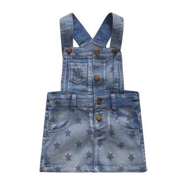 Summer Denim Dresses Girls Overalls Kids Jeans Bebe Infant Clothes Baby Clothing