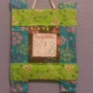 BeautyStitches Coaster Designs: Initials (framed)