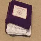 BeautyStitches Coaster Designs: Sparkles Mini Blank Books
