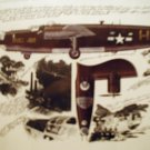 WW2 B-24 aviation art print