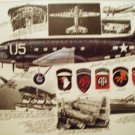 WW2 aviation print of a DC-1