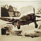 WW2 print P-47 no reserve
