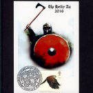Kestrel Pictorial Stamp on Up Helly Aa Viking Fire Festival Postcard Special Shetland Islands Pmk