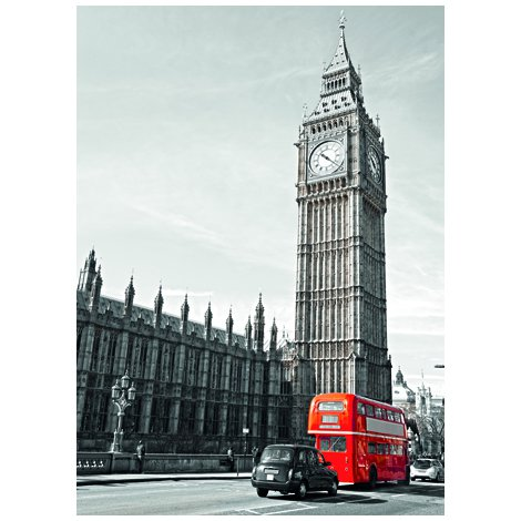 Big Ben Postcard Sent to You in the Mail Using a Pictorial GB Post and Go Stamp