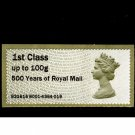I Will Mail You This Special Royal Mail 500 Post & Go Stamp on Pillar Box Postcard