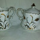 Vintage Lefton China Cream & Sugar Sugar