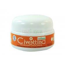 SBM Civettina. An Herbal & Ayurvedic Facepack.