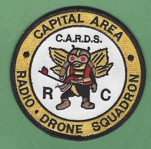 CAPITAL AREA MICHIGAN RADIO DRONE SQUADRON AIRCRAFT PATCH