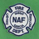 DIEGO GARCIA U.S. NAVAL AIR FACILITY CRASH FIRE RESCUE PATCH