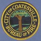 COATSVILLE PENNSYLVANIA FIRE RESCUE PATCH