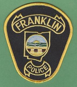 FRANKLIN OHIO POLICE PATCH