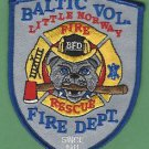 BALTIC SOUTH DAKOTA FIRE RESCUE PATCH