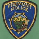 FREMONT CALIFORNIA POLICE PATCH