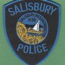 SALISBURY MASSACHUSETTS POLICE PATCH