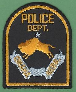 OMAHA NEBRASKA POLICE PATCH