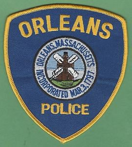 ORLEANS MASSACHUSETTS POLICE PATCH