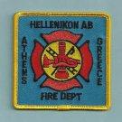 HELLENIKON U.S. AIR BASE ATHENS GREECE CRASH FIRE RESCUE PATCH