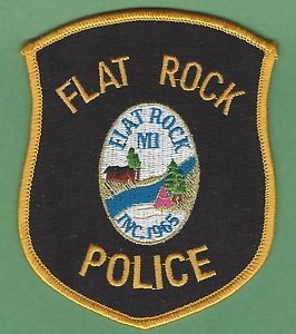 FLAT ROCK MICHIGAN POLICE PATCH