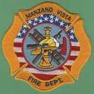 MANZANO VISTA NEW MEXICO FIRE RESCUE PATCH