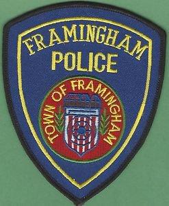 FRAMINGHAM MASSACHUSETTS POLICE PATCH