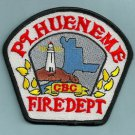 PORT HUENEME CALIFORNIA NAVAL CONSTRUCTION BATTALION FIRE RESCUE PATCH