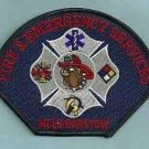 BARSTOW CALIFORNIA U. S. MARINE CORPS LOGISTICS BASE FIRE RESCUE PATCH
