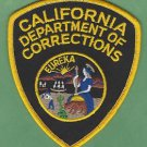 CALIFORNIA DEPARTMENT OF CORRECTIONS POLICE PATCH
