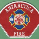 U.S. NAVY BASE ANTARCTICA FIRE RESCUE PATCH