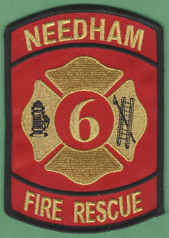 NEEDHAM TEXAS FIRE RESCUE PATCH