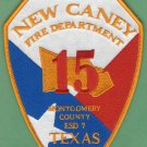 NEW CANEY TEXAS FIRE RESCUE PATCH