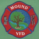 MOUND TEXAS FIRE RESCUE PATCH