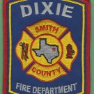 DIXIE TEXAS FIRE RESCUE PATCH