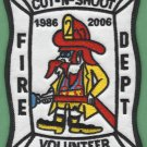 CUT-N-SHOOT TEXAS FIRE RESCUE PATCH