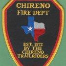 SHIRENO TEXAS FIRE RESCUE PATCH