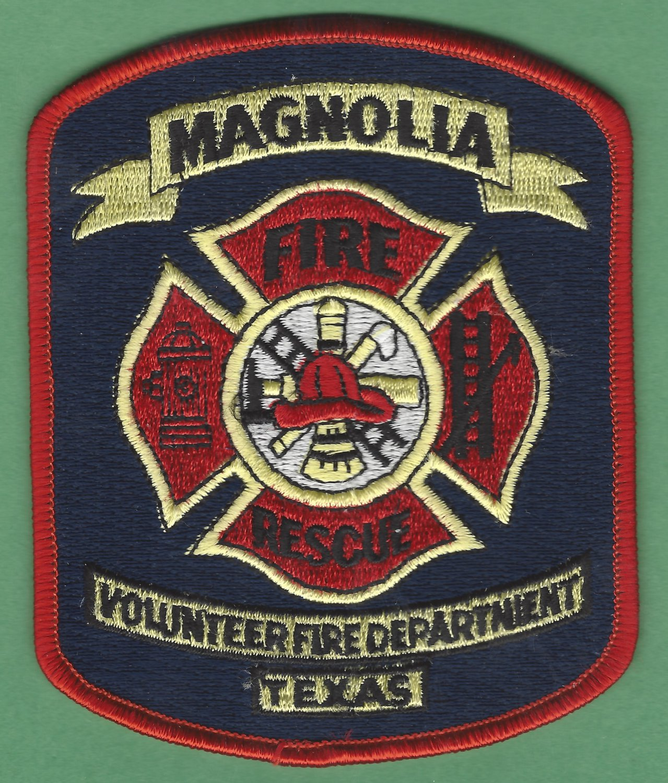 MAGNOLIA TEXAS FIRE RESCUE PATCH