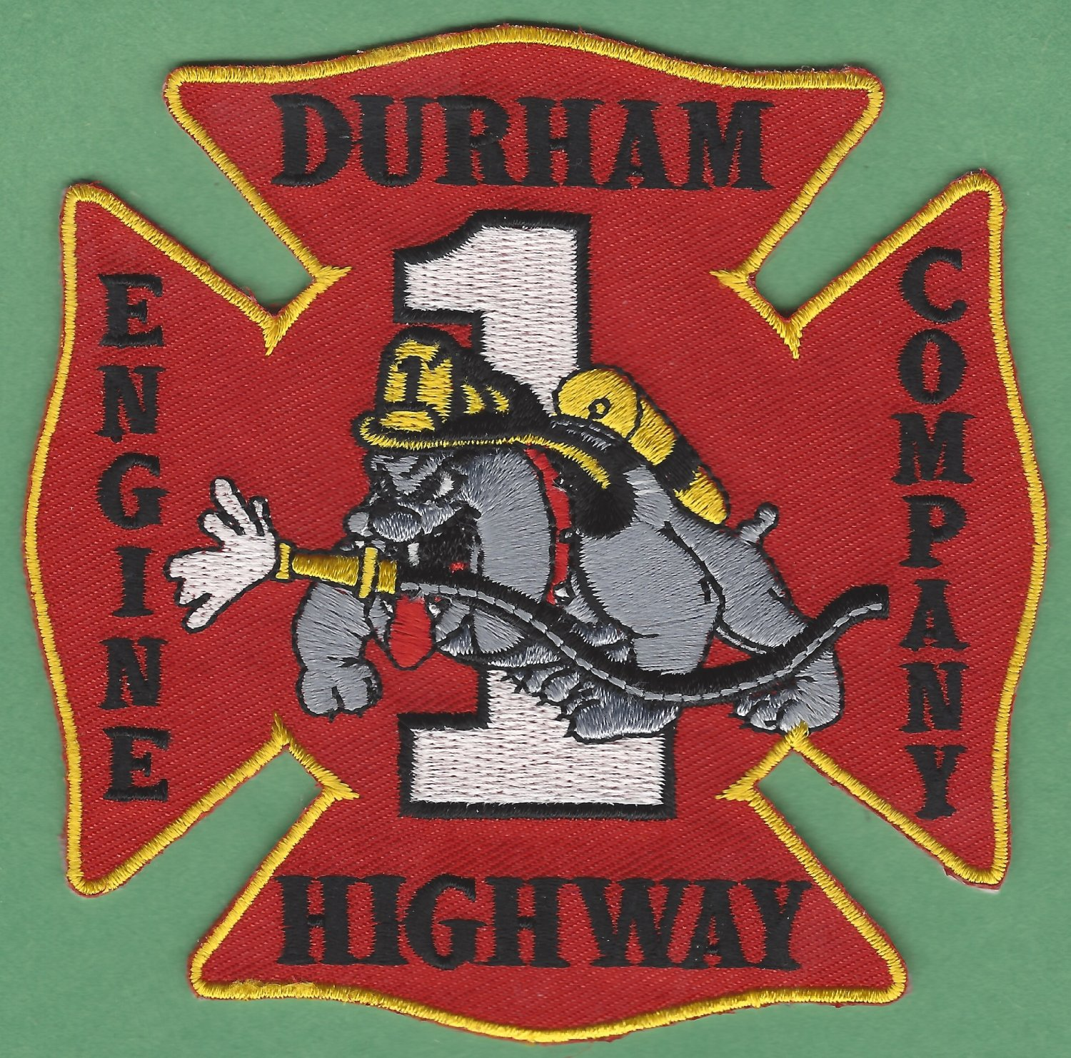 DURHAM HIGHWAY RALEIGH NORTH CAROLINA FIRE RESCUE PATCH