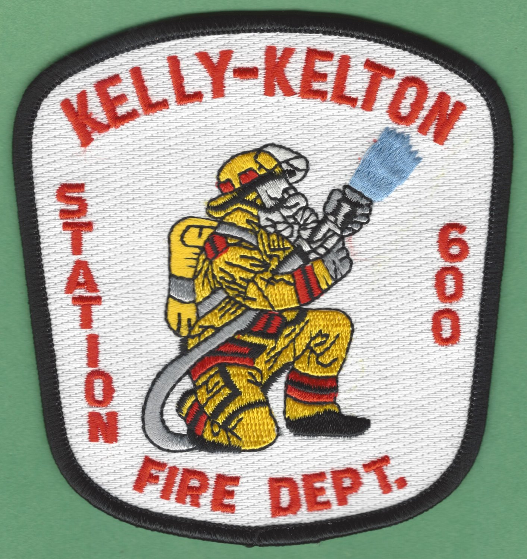 KELLY - KELTON NORTH CAROLINA FIRE RESCUE PATCH
