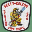 KELLY - KELTON NORTH CAROLINA FIRE RESCUE PATCH