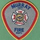 MURRAY UTAH FIRE RESCUE PATCH