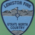 LEWISTON UTAH FIRE RESCUE PATCH