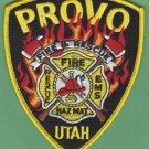 PROVO UTAH FIRE RESCUE PATCH