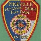 PIKESVILLE - PLEASANT GROVE NORTH CAROLINA FIRE RESCUE PATCH