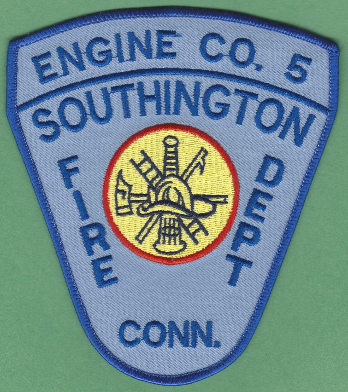 SOUTHINGTON CONNECTICUT FIRE RESCUE PATCH