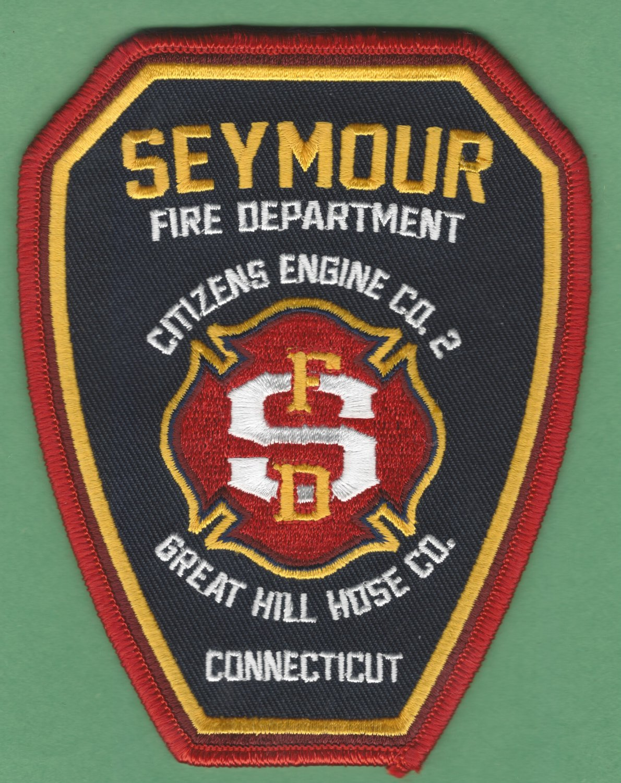 SEYMOUR CONNECTICUT FIRE RESCUE PATCH