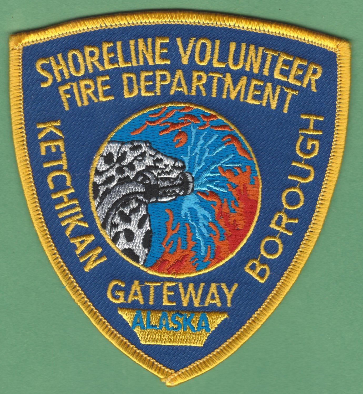 SHORELINE KETCHIKAN ALASKA FIRE RESCUE PATCH