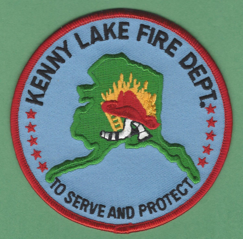 KENNY LAKE ALASKA FIRE RESCUE PATCH
