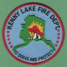 KENNY LAKE ALASKA FIRE RESCUE PATCH